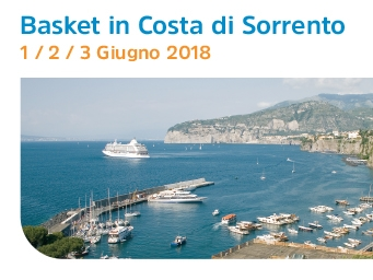 6° Basket in Costa di Sorrento 2018