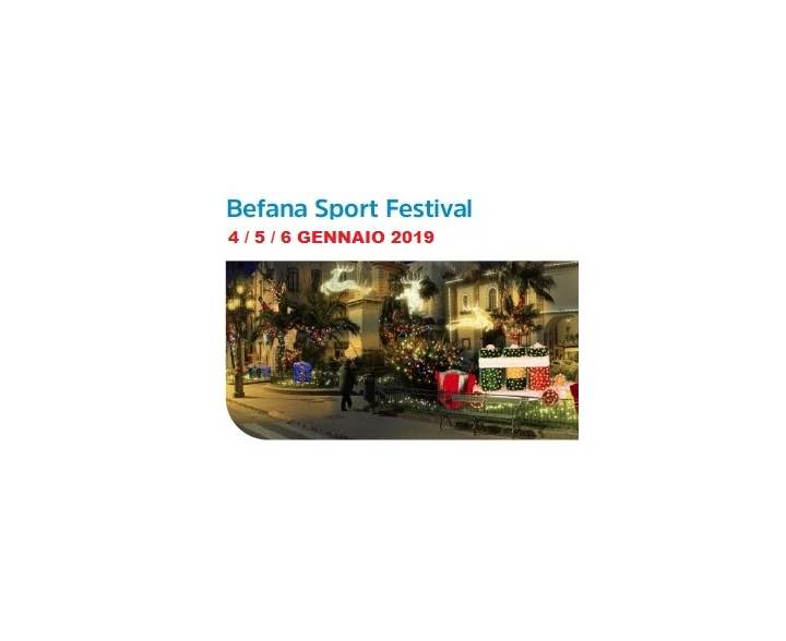 3° Befana in Costa di Sorrento... Basket Sport Festival